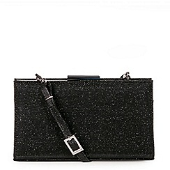 Peter Kaiser - Black 'Magalie' Womens Match Clutch Bag
