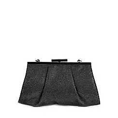 Peter Kaiser - Metallic 'Lomasi' womens match clutch handbag