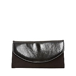 Van Dal - Black 'Martina' womens clutch handbag