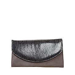 Van Dal - Dark grey 'Martina' womens clutch handbag