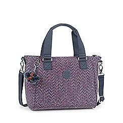 Kipling - Multi Coloured 'Amiel' womens canvas handbag