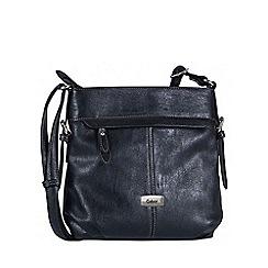 Gabor - Black 'Lisa' womens messenger handbag