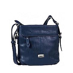 Gabor - Blue 'Lisa' womens messenger handbag
