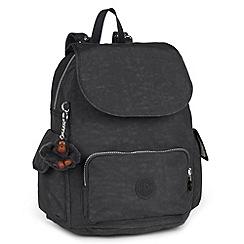 Kipling - Black 'City Pack S' womens backpack