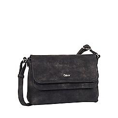 Gabor - Black 'Fee' womens messenger handbag