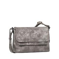 Gabor - Grey 'Fee' womens messenger handbag