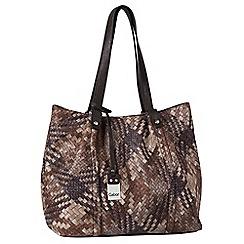 Gabor - Brown 'Delia' womens shoulder bag