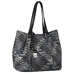 Gabor - Grey 'Delia' womens shoulder bag