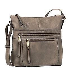 Gabor - Taupe 'Tina' messenger bag