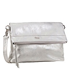 Gabor - Silver 'Elisa' messenger bag