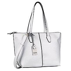 Gabor - Silver 'Arezzo' grab bag