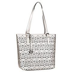 Gabor - Silver 'Savona' shoulder Bag