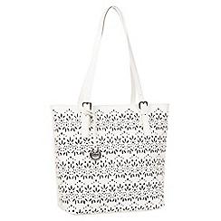 Gabor - White 'Savona' shoulder Bag