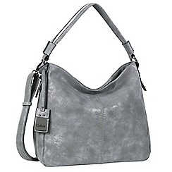 Gabor - Light grey 'Sienna' Womens Hobo Bag