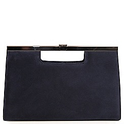 Peter Kaiser - Navy 'Wye' womens clutch bag