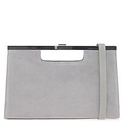 Peter Kaiser - Grey 'Wye' womens clutch bag