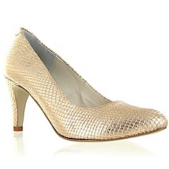 Marta Jonsson - Limited edition gold leather court