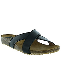 Marta Jonsson - Black women's foot bed sandal