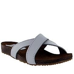 Marta Jonsson - White women's foot bed sandal