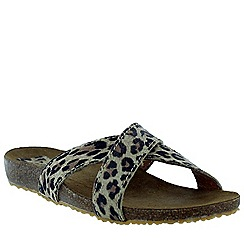 Marta Jonsson - Leopard women's foot bed sandal