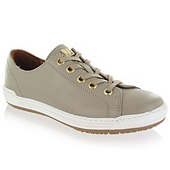 Marta Jonsson - Grey Leather Trainer