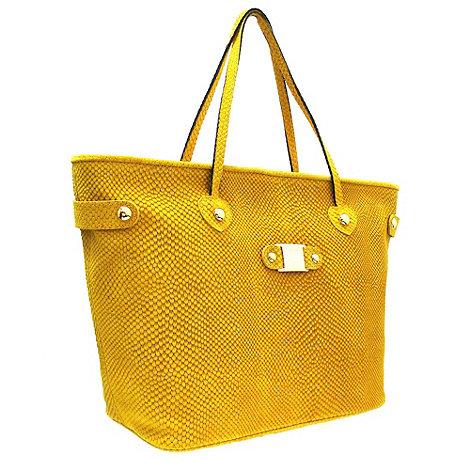 Marta Jonsson - Yellow Leather Shoulder Bag
