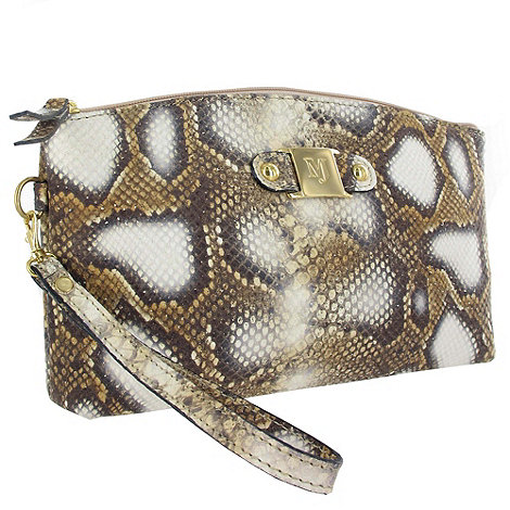 Marta Jonsson - Snake Print Leather Clutch