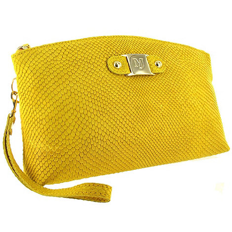 Marta Jonsson - Yellow Leather Clutch