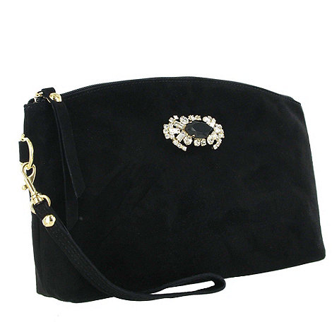 Marta Jonsson - Black suede clutch bag