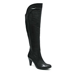 Marta Jonsson - Black leather knee boot