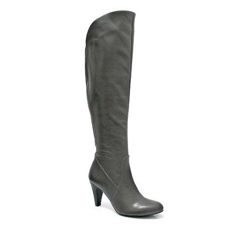 Marta Jonsson - Grey leather knee boot