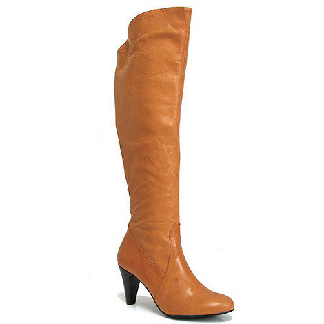 Marta Jonsson - Tan leather knee boot