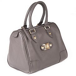 Marta Jonsson - Grey leather grab bag