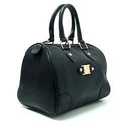 Marta Jonsson - Navy leather handbag