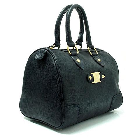 Marta Jonsson - Navy leather handbag
