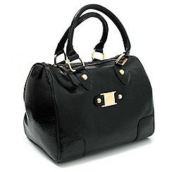 Marta Jonsson - Black patent leather handbag