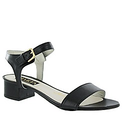 Marta Jonsson - Black womens sandal with buckle