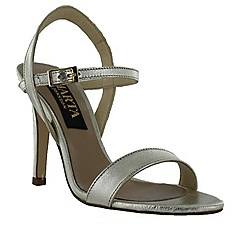 Marta Jonsson - Gold women's high heel sandal