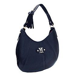 Marta Jonsson - Navy leather shoulder bag