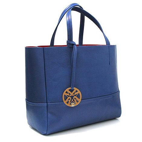Marta Jonsson - Cobalt leather handbag