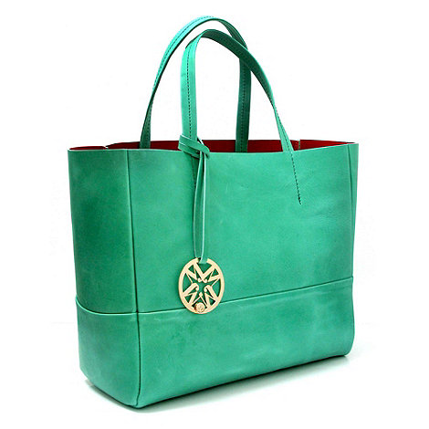 Marta Jonsson - Jade leather handbag