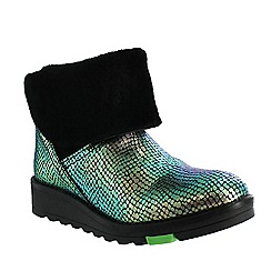 Marta Jonsson - Multicoloured northern light boot