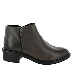 Marta Jonsson - Grey women's ankle boot
