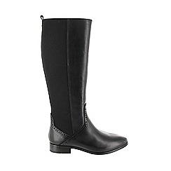 Marta Jonsson - Black women's knee high boot