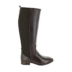 Marta Jonsson - Brown women's knee high boot