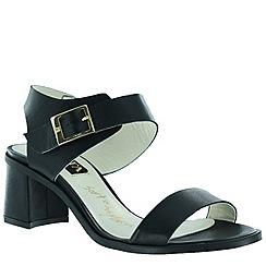 Marta Jonsson - Black women's block heel sandal