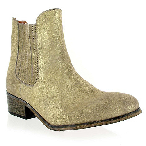 Marta Jonsson - Gold leather ankle boot