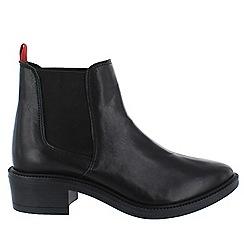 Marta Jonsson - Black women's chelsea ankle boots