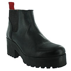 Marta Jonsson - Black slip on ankle boot