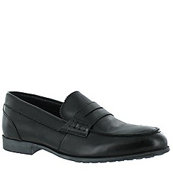 Marta Jonsson - Black women's leather loafers